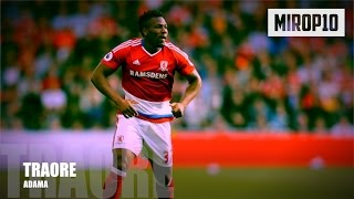 ADAMA TRAORE ✭ MIDDLESBROUGH ✭ THE BULLET  ✭ Skills & Goals ✭ 2016-2017