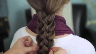 видео Датская коса