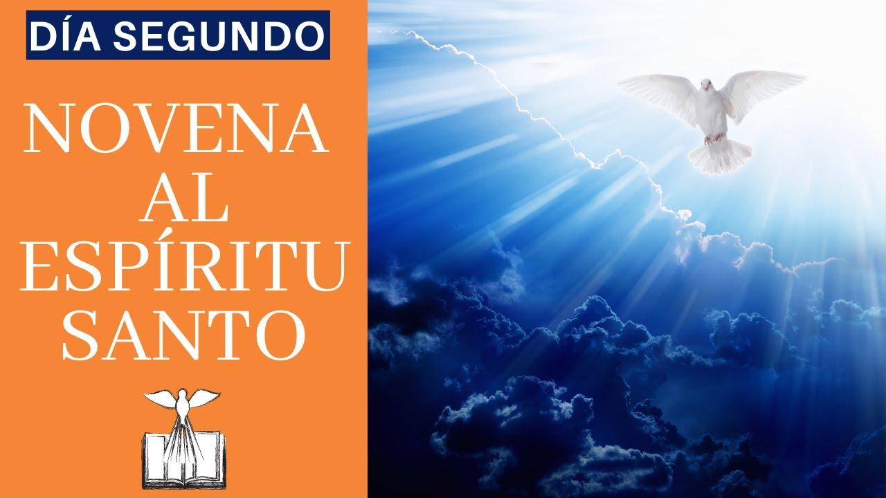 NOVENA BÍBLICA Y PODEROSA AL ESPÍRITU SANTO | DÍA SEGUNDO