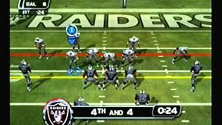 NFL Blitz 2003 -  Cowboys vs Raiders (1st Half)