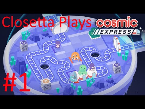 Closetta is playing a puzzle game??? (Cosmic Express Part 1) |