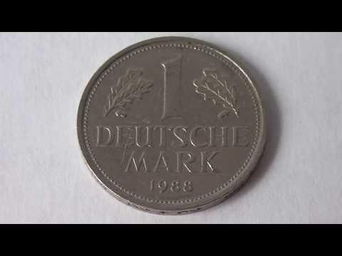1 Deutsche Mark Germany 1988 F - Amazing Coin