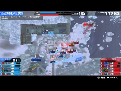戦場の絆 12/10/16 21:07 北極基地...