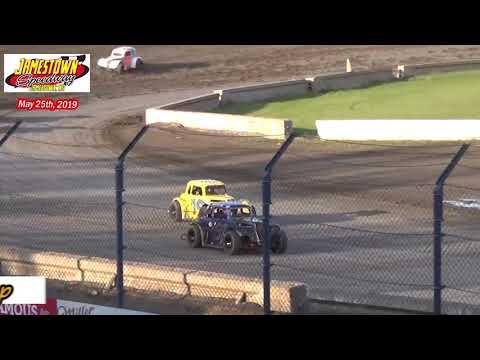 Jamestown Speedway INEX Legend Heats (5/25/19)