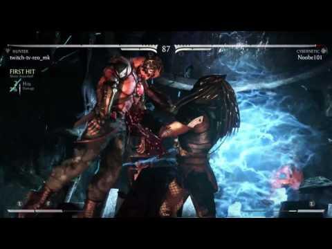REO (Predator - Hunter) VS Noobe (Kano - Cybernetic) Online Set