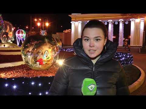 Телеканал Simon: Харків засяяв новорічними вогнями