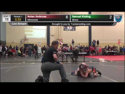 4037 Novice 70 Nolan Ambrose Minnesota vs Samuel Kisting Illinois 7861332104