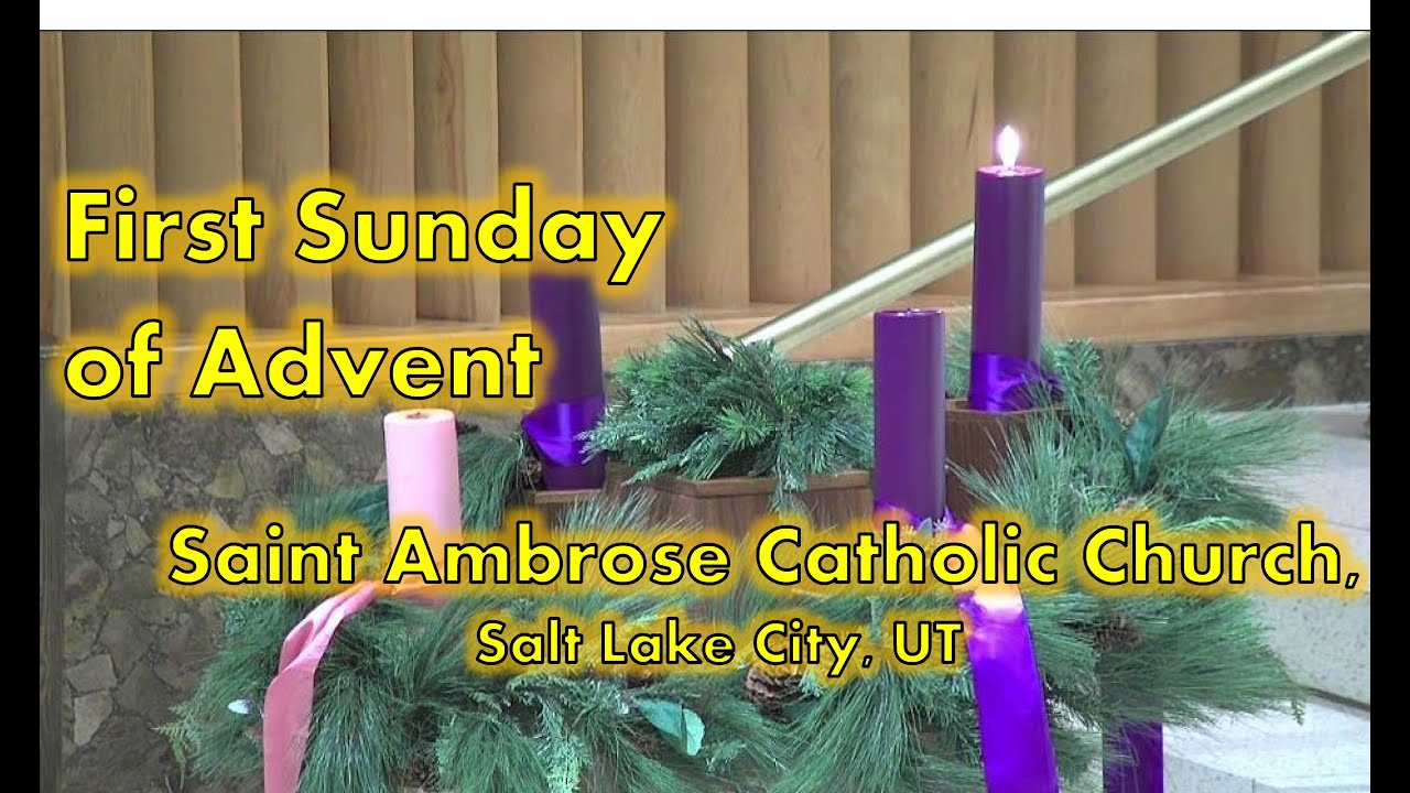 First Sunday of Advent (B)
