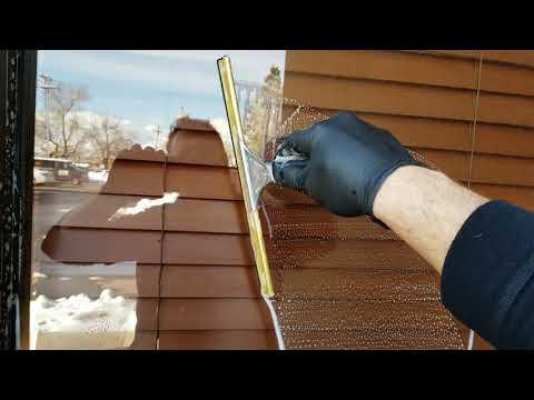 Как моют окна клининговые компании