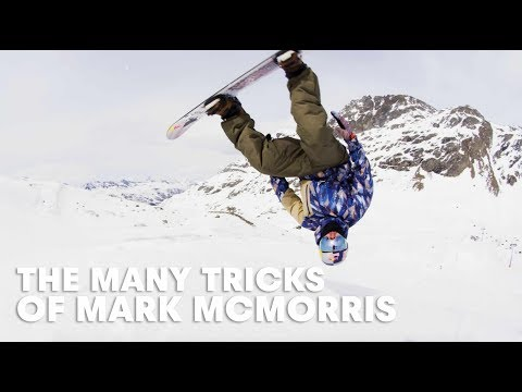 Wow Did Mark McMorris Just Do That? | Snowboard Session in Switzerland