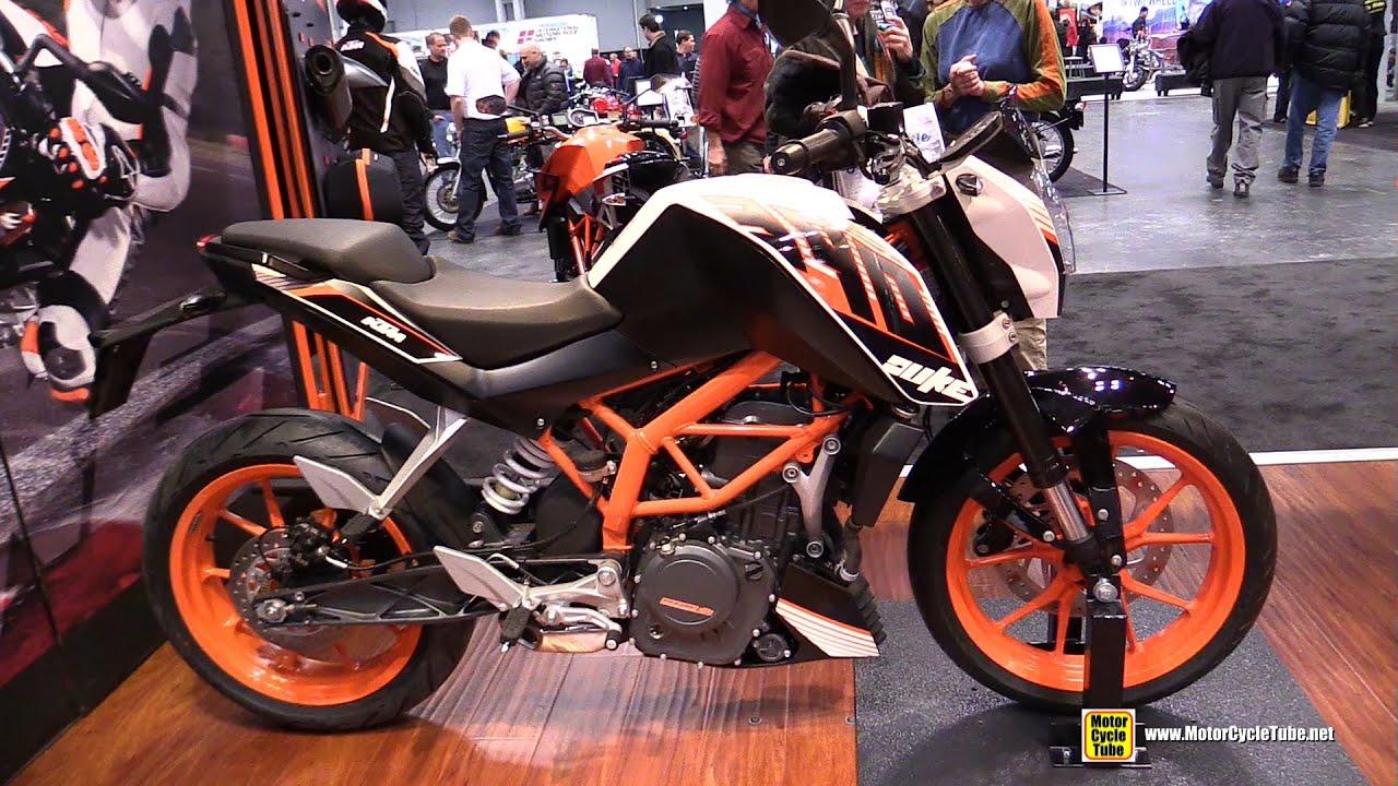 2015 ktm 390 duke - walkaround - 2014 new york motorcycle show
