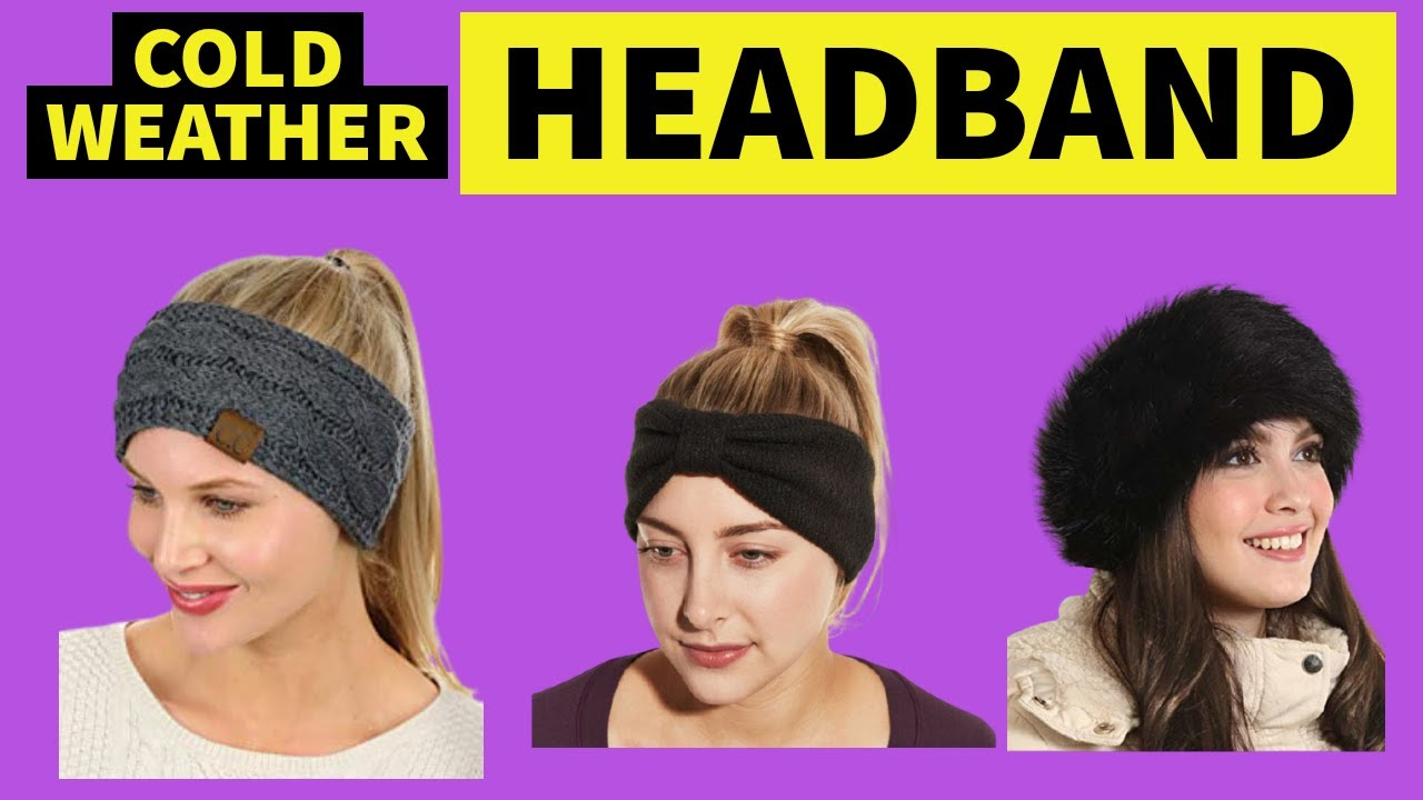 Women's Cold Weather Headband : Top 10 Best Cold Weather Headbands For Women  2021⏰ - YouTube