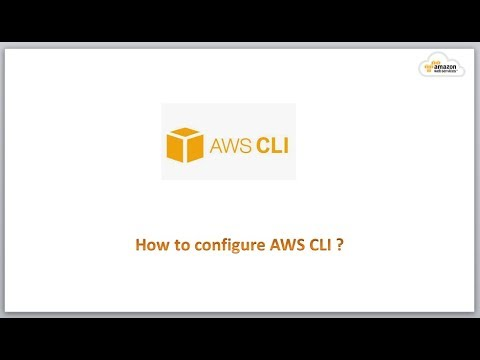How to configure AWS CLI on Windows and Linux ?