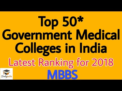 Top 50 Medical College In India NEET 2018