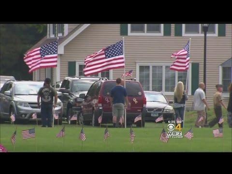 Wake Held For Massachusetts Marine Killed In Chattanooga Shooting