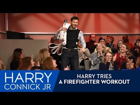 Harry Tries a Firefighter Workout