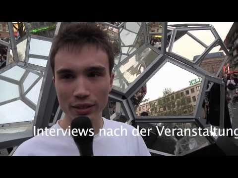 Pierre Vogel in Frankfurt (2011): Interviews nach der Veranstaltung