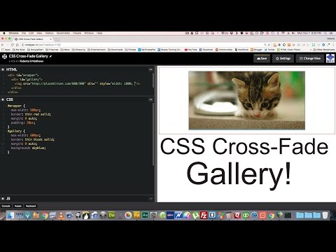 Smooth CSS Cross-Fade with no JavaScript - YouTube