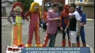 Pânico Na TV 13/02/2011 - Vesgo com o Trenzinho Carreta Furacão