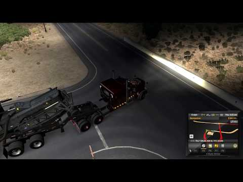 American Truck Sim - Heavy Cargo Pack DLC First Look - and Road Trip