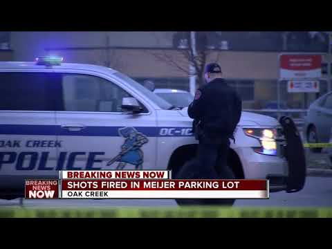 Four in custody after gunshots fired near Oak Creek Meijer