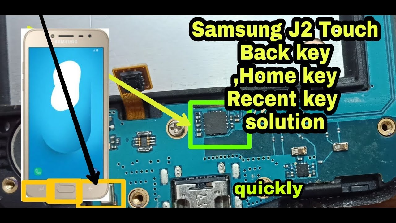 samsung j2 back button not working solution   samsung j2 back home recent  key not working solution