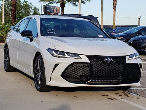 💥2019 Toyota Avalon -  Interior, Exterior And Drive Of The Excellent Sedan !!