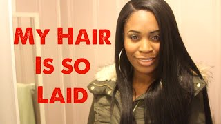 A PERFECT INSTALL Yaki Straight Glueless Full Lace Wigs |WowAfrican Hair Review Thumbnail