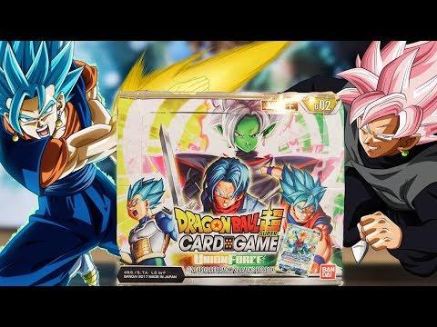 NEW VEGITO BLUE & ROSE/ZAMASU SET! Union Force Booster Box Opening! Dragon Ball Super Card Game