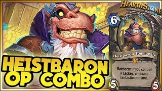 HEISTBARON OP COMBO! | Hearthstone Rise of Shadows moments