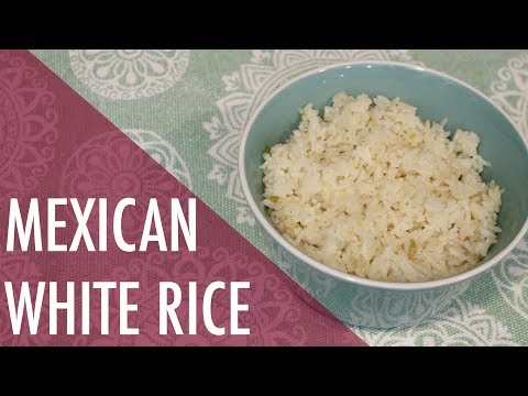 How to Make Mexican White Rice