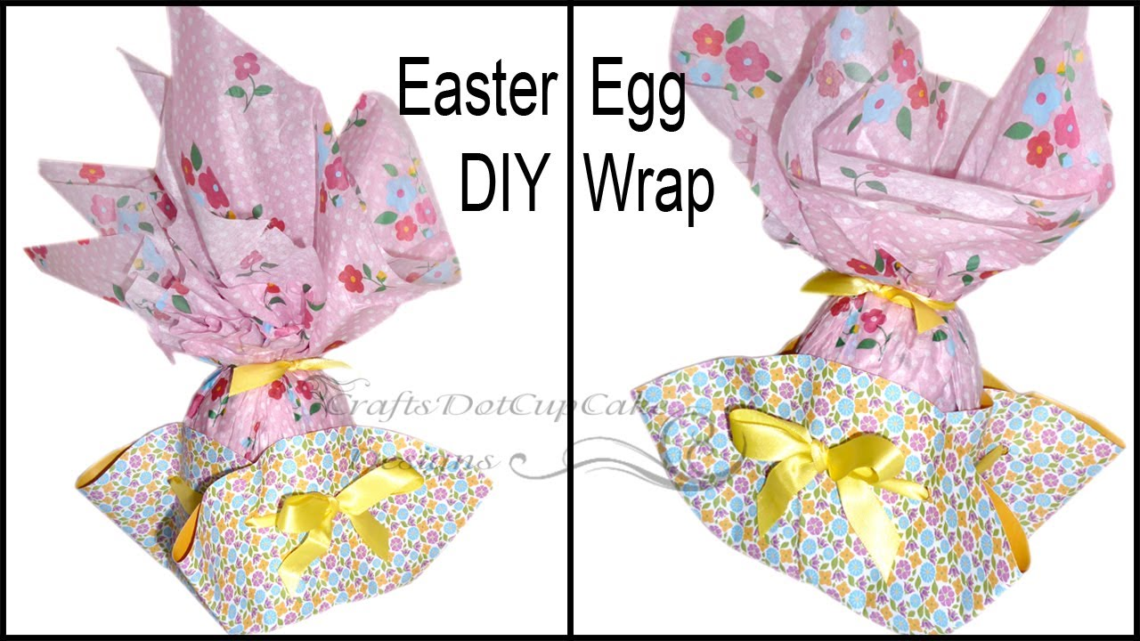 How to gift wrap easter egg tutorial youtube negle