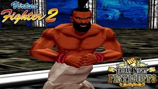 Friday Night Fisticuffs - Virtua Fighter 2