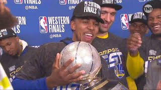 NICK YOUNG HILARIOUS INTERVIEW AFTER WINNING GAME SEVEN.  😂
