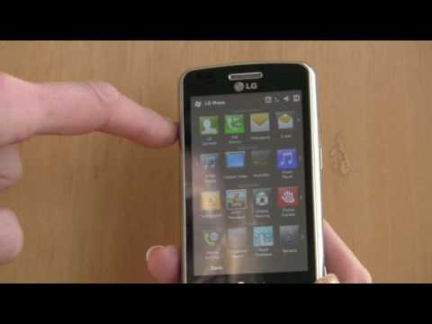 LG eXpo Windows Mobile Smartphone Video Review