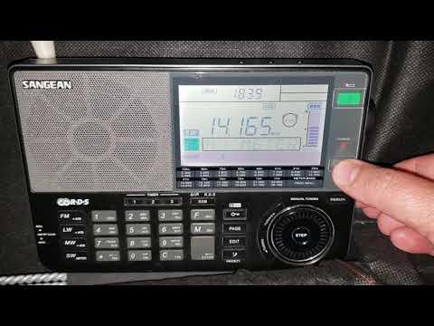 Canada Day Contest VE6RAC Alberta Canada 14165 KHz Shortwave USB