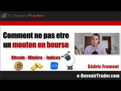 Comment ne plus être un mouton en bourse (Bitcoin - Minière – Indice)