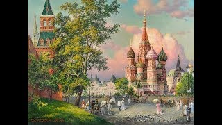 Галерея работ художника Михаила Сатарова из серии «Старая Москва».