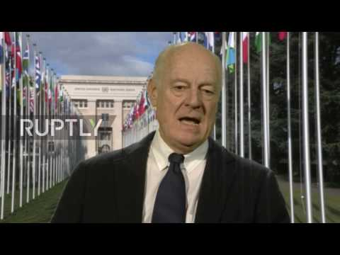 Switzerland: We have lost one of our best diplomats – UN's Staffan de Mistura