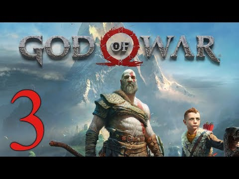 God of War (2018) playthrough pt3 - The First Puzzle/Backtrack Kings