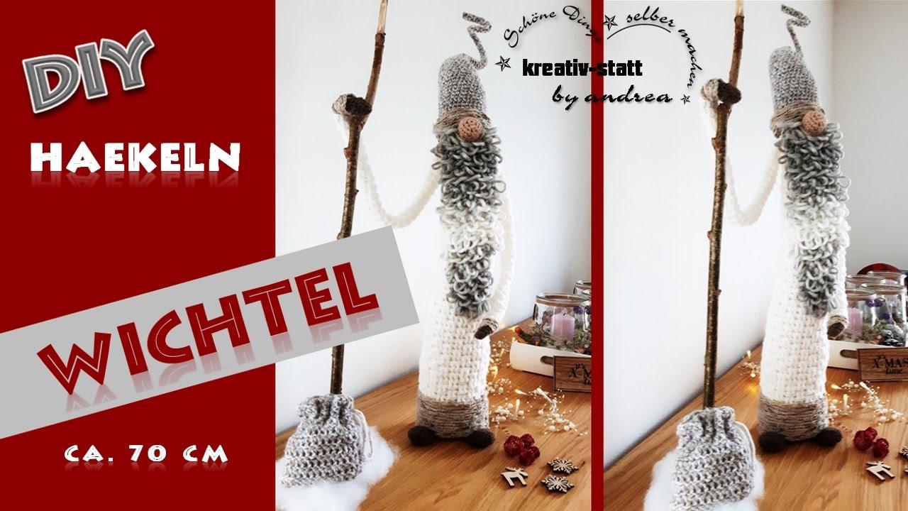 Diy Häkeln Anleitung Großer Wichtel Crochet Pattern Big Witch