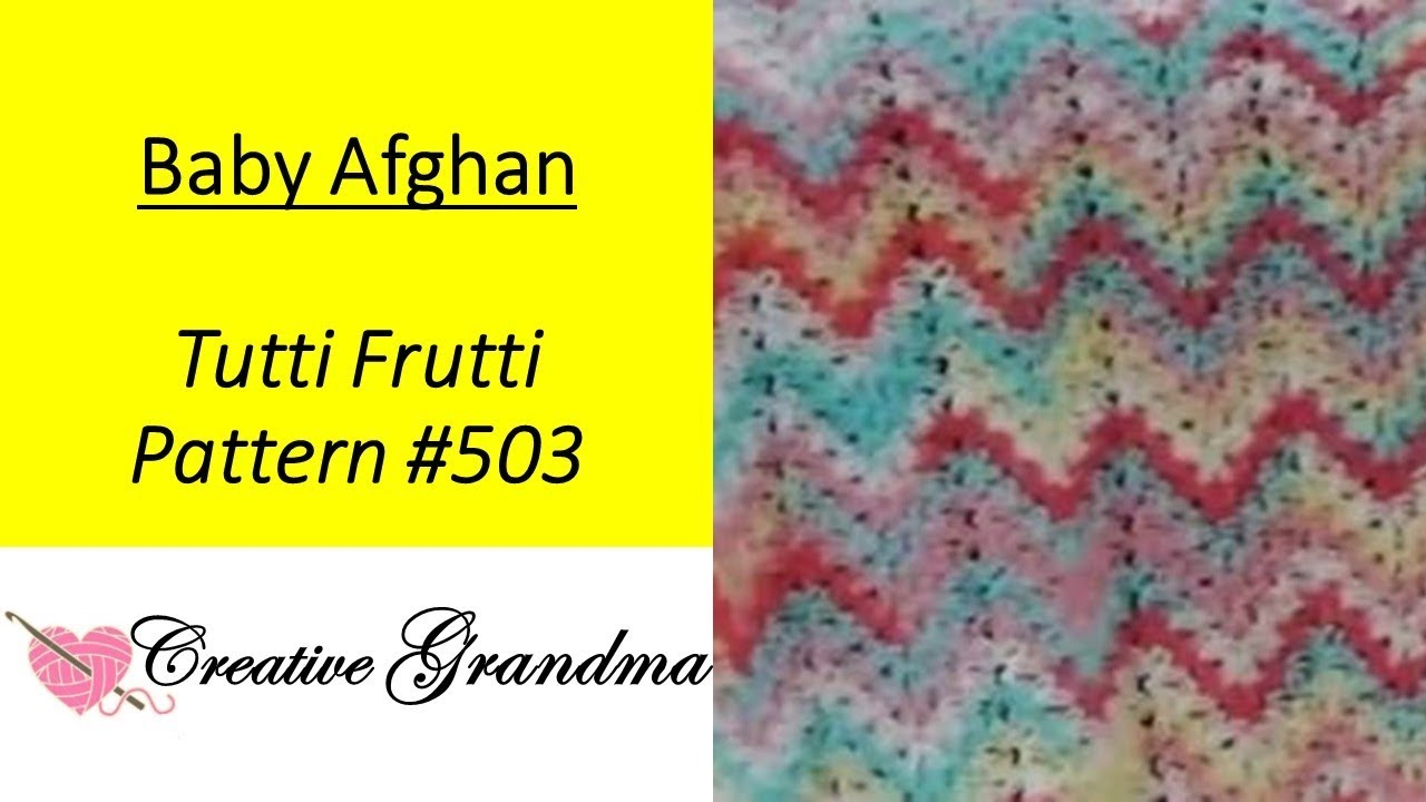 Tutti frutti crocheted ripple baby afghan so easy youtube tutti frutti crocheted ripple baby afghan so easy bankloansurffo Images