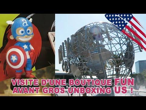 VLOG • Petite Visite d'une boutique 100% FUN à Universal L.A. - Studio Bubble Tea