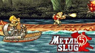 Neo Geo - Metal Slug 5: Primeira Gameplay