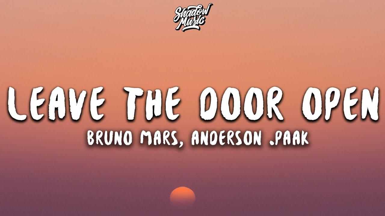 Download Bruno Mars, Anderson .Paak - Leave The Door Open (Lyrics)