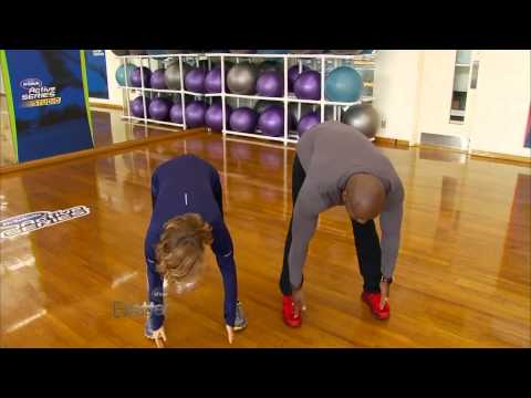 Lesley Working Out With Dolvett Quince