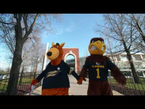 Before They Were Rivals - University of Akron / Zippy's Version