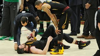 Kevin Love Will Miss Game 7! Cavs vs Celtics 2018 NBA Playoffs