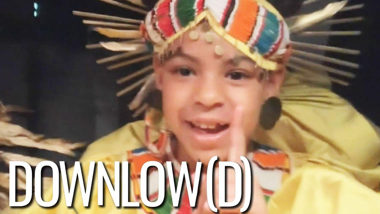 blue ivy sir and rumi carter s cutest moments from beyonce s tv special the downlow d