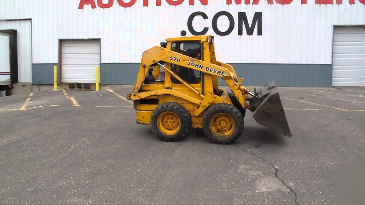 John Deere Skid Steer From Minnesota S Auction Masters Youtube